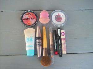 summer make-up routine